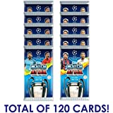 2017-18 TOPPS MATCH ATTAX CHAMPIONS LEAGUE SOCCER CARDS 20 PACKS (120 CARDS) 6 FREE PROMO PACKS (120 CARDS TOTAL) 6 CARDS PER PACK LOOK FOR MESSI, RONALDO, NEYMAR & MORE!