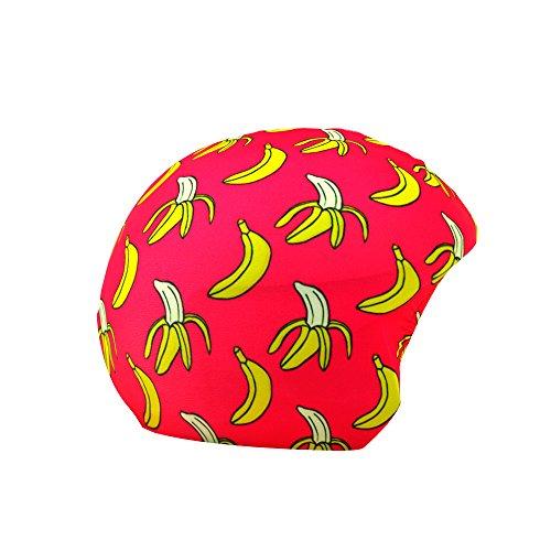 COOLCASC Multisport Helm Cover Banane Print