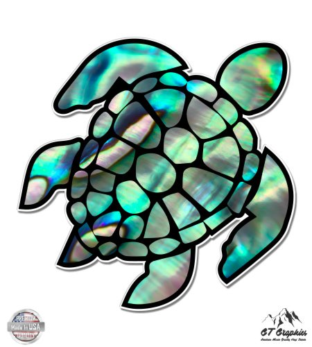 - GT Graphics Sea Turtle Beautiful Pearl Design - 16