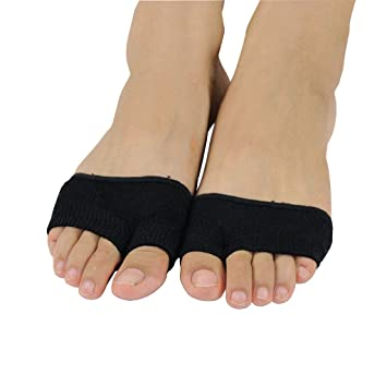 094d5b3c6 Amazon.com  (2 Pairs) Toe Socks for Women No Show