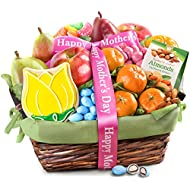 Golden State Fruit Spring Fruit & Treats Gift Basket