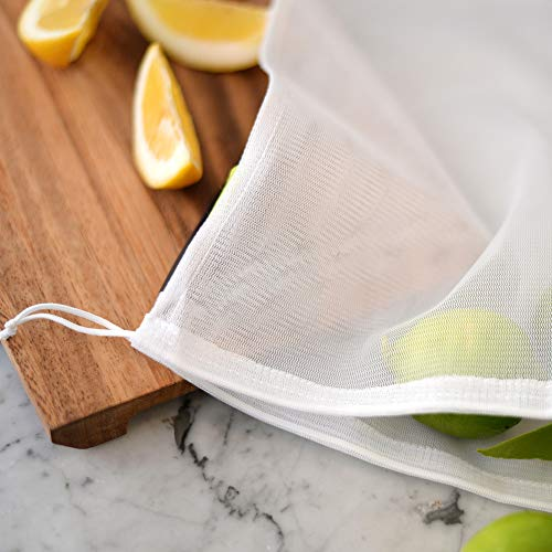 Reusable Produce Bags – Eco Green bags for Fruits and Veggies by flip & tumble (Image #6)