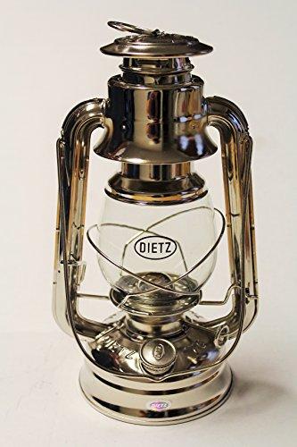Dietz Original #76 Oil Lamp Burning Lantern - Nickel Plated