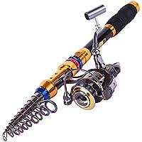 Sougayilang Portable Telescopic Fishing Rod and Reel...