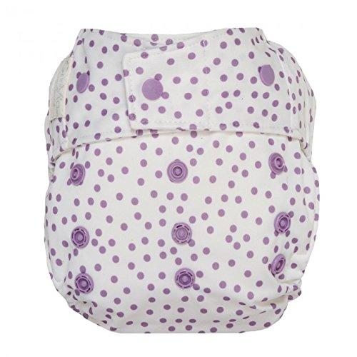 Violet Dot (GroVia Hybrid Cloth Diaper Shell, Snap Shell (Violet Dot))