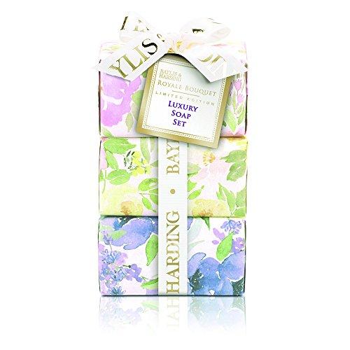 Baylis & Harding Royale Bouquet Assorted 3 Soap Set, 315 Gram (Baylis And Harding Royale Bouquet Gift Set)