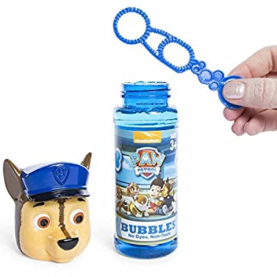 Toy Girls Kids Spring Summer Fun Backyard Outdoor Playtime Bubbles 5 Ounce Bottle Paw Patrol Set of 3: Toys & Games