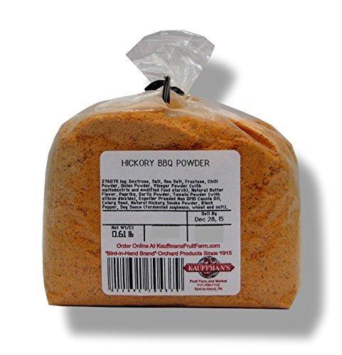 Hickory BBQ Seasoning Powder - No MSG Added, 8 Oz. Bag (Pack of 2) by Kauffman's Fruit Farm by Kauffman's Fruit Farm (Image #1)