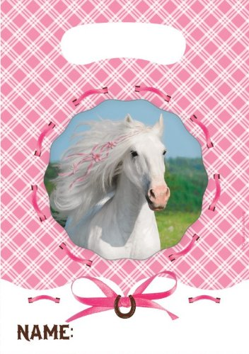 (Heart My Horse Party Bags (Pack of 8))