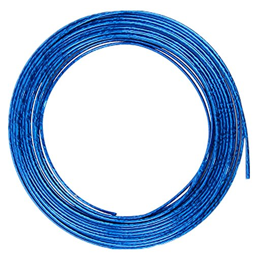 15 Feet Blue Door Front Rear Lip Edge Overlay Molding Guard Protection Decoration Stripe Trim D.I.Y. FIT