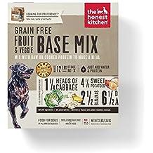 Honest Kitchen The Grain Free Fruit & Veggie Base Mix Recipe for Dogs, 3 lb box - Preference