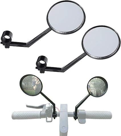 Bicycle Handlebar Rear View Mirror Adjustable Rotary 360 Degree Universal 1 Pcs