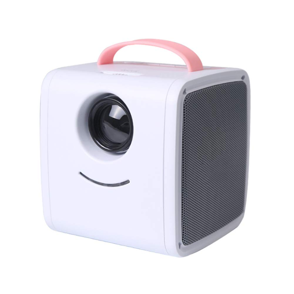 HBOY Projector LCD Projector Home Projector Children's Mini-Pink by HBOY