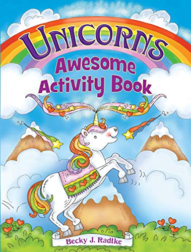 Unicorns Awesome Activity Book (Dover Children's Activity Books) by Becky J. Radtke