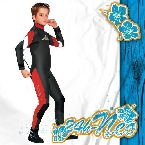 ASCAN JUNIOR SEMIDRY Kinder Neoprenanzug Surfanzug 3 mm NEU!!, 140