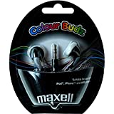 Maxell Color Buds Earphone - Black