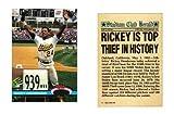 Rickey Henderson Stolen Base Record Commemorative