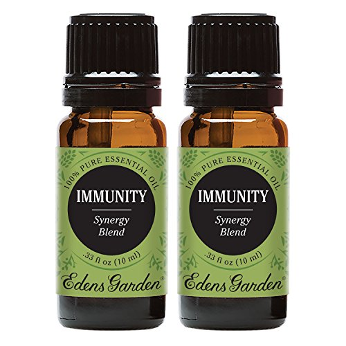 Edens Garden Immunity Value Pack Synergy Blend 100% Pure Undiluted Therapeutic Grade GC/MS Certified Essential Oil