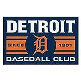 Fanmats 18468 Detroit Tigers Baseball Club Starter Rug