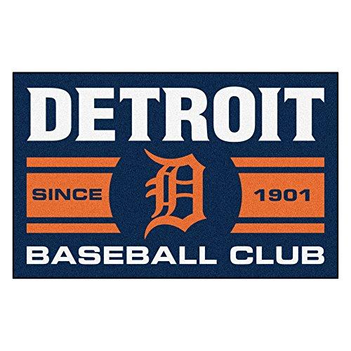 - FANMATS 18468 Detroit Tigers Baseball Club Starter Rug