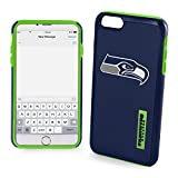 Forever Collectibles - Licensed NFL Cell Phone Case for Apple iPhone 6/6s - Retail Packaging - Seattle Seahawks