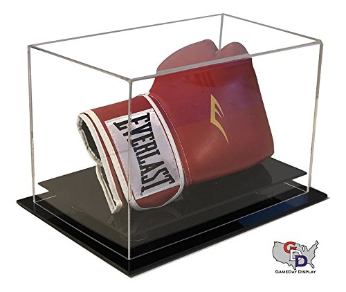 (GameDay Display Acrylic Desk or Table top Boxing Glove Display Case by)
