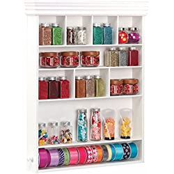 Wall Mount Embellishment Organizer