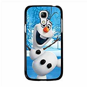 Beautiful Fine Cover Case Protection Frozen Phone Case Snap on Samsung Galaxy S4 Mini Animation Movie Frozen Pattern Cover