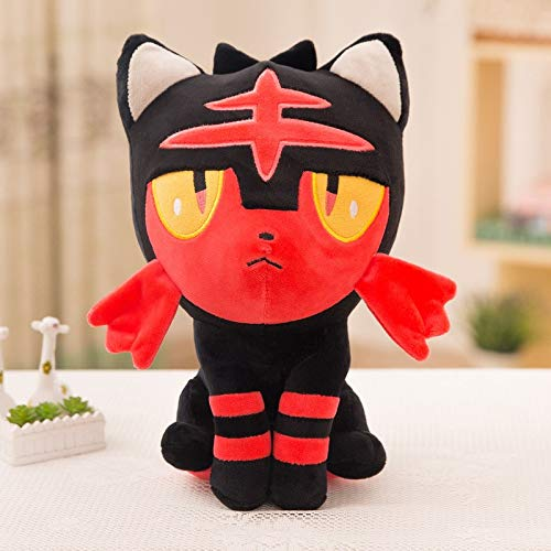 PampasSK Stuffed & Plush Animals - Pocket Monster Anime Pikachu Cosplay Plush Toys Cute Plush Toys Children's Gift Toy Kids Cartoon Peluche Pikachu Plush Doll 1 PCs -