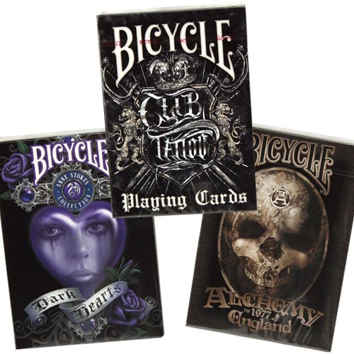 Bicycle Anne Stokes II, Alchemy II & Club Tattoo 3-deck combo