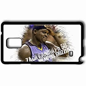 Personalized Samsung Note 4 Cell phone Case/Cover Skin 15034 grizz 2 Black by mcsharks
