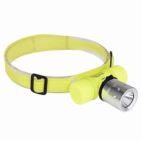 Lampe Frontale Castnoo Etanche Plongee Phare 3 Modes 800lm