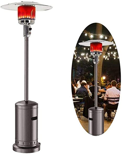 Outdoor Gas Patio Heater 48000 Btu Standing Outdoor Heater Propane Gas Portable Commercial Outdoor Heater Stove Kitchen Dining