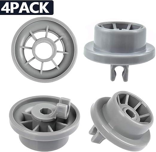 YOTINO 4Pcs Lavavajillas ruedas, cesta rollo lavavajilla se puede ...