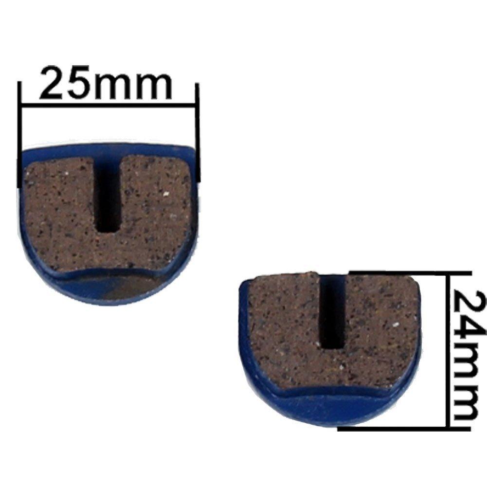 Pastiglie per monopattino e elettrico o benzina scooter pocket bike per freni, blau Mach1 Scooter Ersatzteile