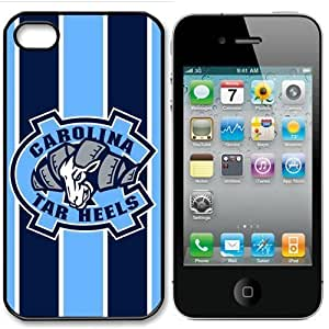 NCAA North Carolina Tar Heels Iphone 4 and 4s Case Cover