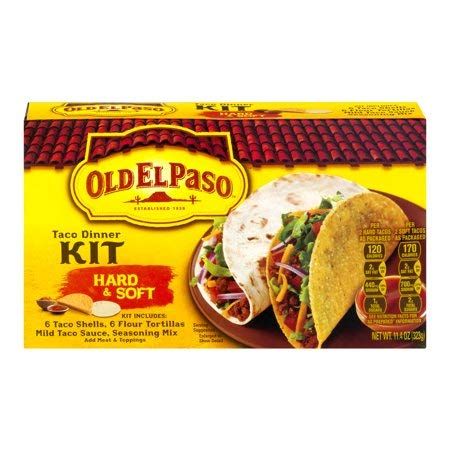 Old El Paso Hard & Soft Taco Dinner