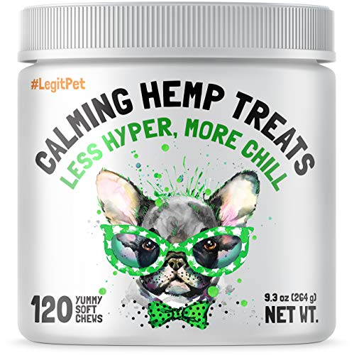 Calming Hemp Treats Dogs