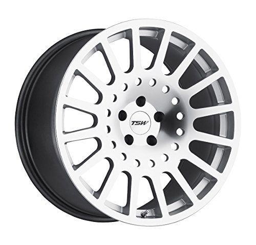 TSW HOLESHOT Silver Wheel with Painted Finish (20 x 9. inches /5 x 112 mm, 35 mm Offset)