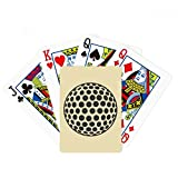 Golf Sport Simple Geometry Pattern Poker Playing Card Tabletop Board Game Gift
