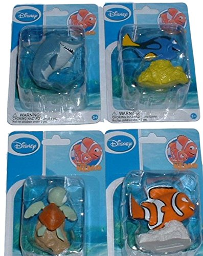 Disney Finding Nemo Figure Set Cake Topper Decorations ()
