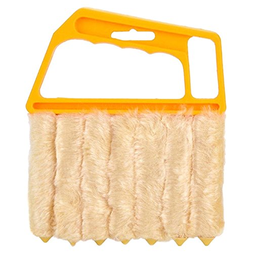 Rely2016 Microfiber Mini Blind Cleaner Venetian Blind Brush Window Air Conditioner Duster Dirt Cleaner Housework Tool ()