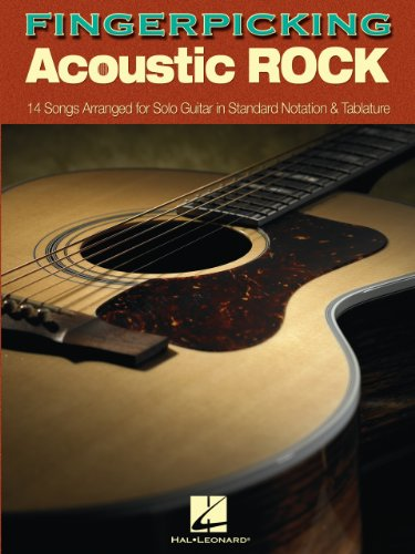 - Fingerpicking Acoustic Rock Songbook: 14 Songs Arranged for Solo Guitar in Standard Notation & Tab