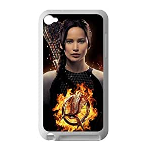 Every New Day The Hunger Games Katniss Everdeen Jennifer Lawrence Unique Custom IPOD 4 Best Rubber+Plastic Cover Case