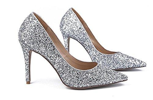 Damen Schuhe Heeled Einzelne XIE High Zehe Spitze ZAwZYvx