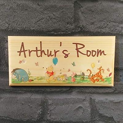 Childrens Bedroom Door Baby Girl Boy Name Back Double Tap To Zoom