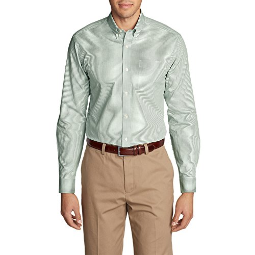 inkle-Free Pinpoint Oxford Classic Fit Long-Sleeve Shirt,XL Regular,Dusty Jade (Green) (Classic Cotton Oxford Shirt)
