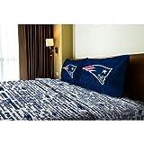NFL New England Patriots Sheet Set Anthem Sheets Full Bed