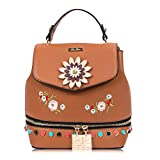 RenDian Women's Mini Cute Fashion Backpack Purse Anti Theft Leather Shoulder Bags, for Travel/School/Leisure