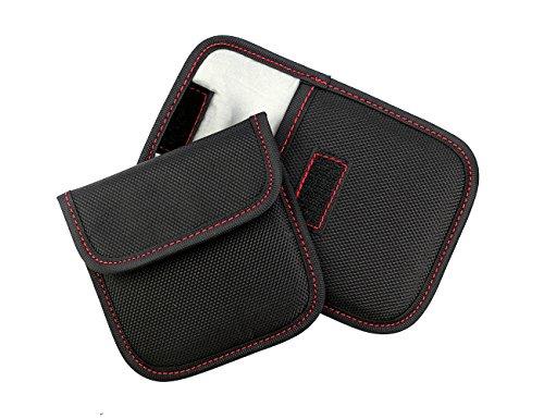1-Pocket Lens Filter Case Filter Bag Pouch Protective Filter Carry Case Black 2 PCS